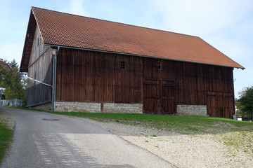 Scheune in Paulushofen...