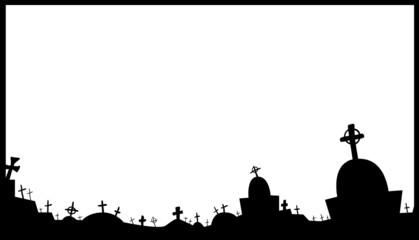 Cemetery Frame