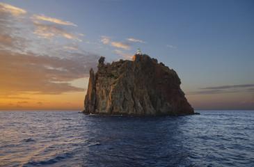 """Strombolicchio"", near Stromboli. Aeolian islands, Italy."