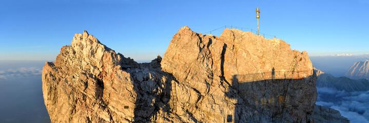 Zugspitze, Germany's highest mountain peak