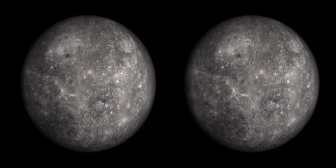 Mercury stereo pair. For 3D images in any format.