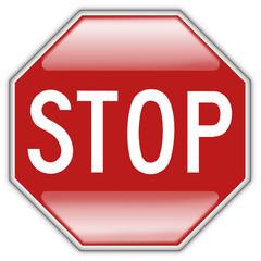 Button Patch Stopschild
