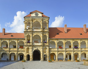 Castle in the Moravian Trebova, Renaissance monument