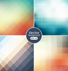 Colorful modern geometrical abstract background