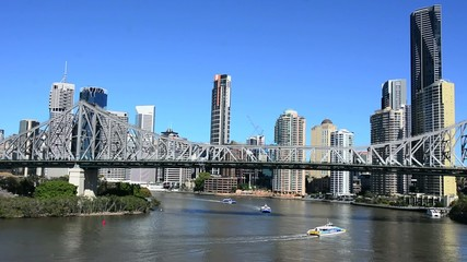 Brisbane Skyline - Queensland Australia