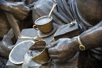 Marriage Carousel Fountain (Das Ehekarussell), detail photo