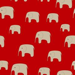 Seamless Elephants