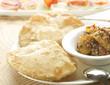 Yummy bason puri with potato curry - 71821893