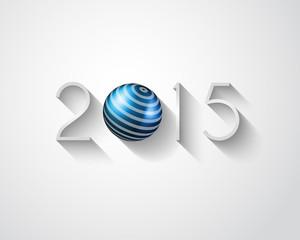 2015 New year original modern background template