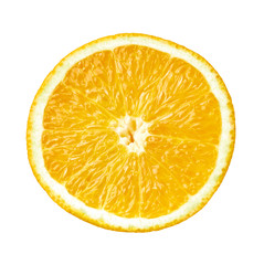 orange fruit food slice section fresh