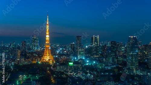 Foto op Canvas Japan 東京タワー