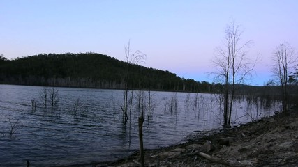 Lake Advancetown in Gold Coast Queensland Australia