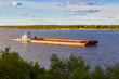 barge on river - 71823610