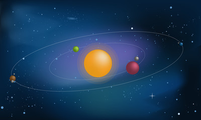 Vector Space illustration