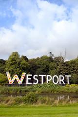 giant Westport sign