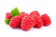 canvas print picture - Raspberry fruits