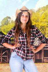 Sassy Teen Cowgirl