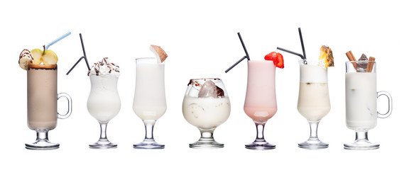 Milk cocktails
