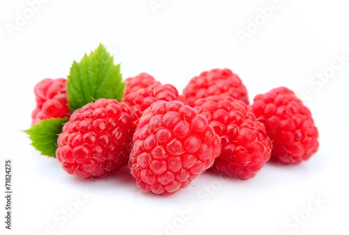 canvas print picture Raspberry fruits