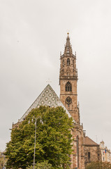 Bozen, Altstadt, Dom, Pfarrkirche, Südtirol, Italien