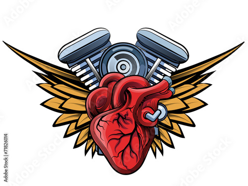 engine tatoo label - 71826014