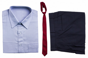 Set of office work clothes