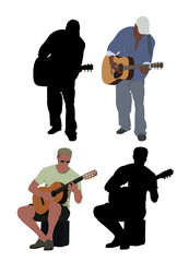 Guitarists / buskers