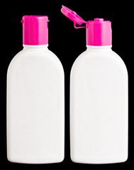 Blank lotion bottle