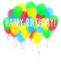 Balloons. Happy birthday!