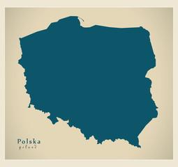 Modern Map - Polska PL