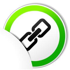 chain paper icon