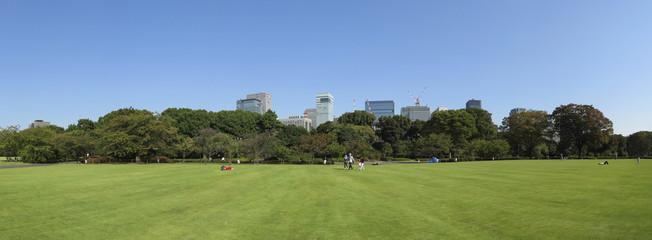 皇居 江戸城 本丸跡