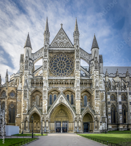 Papiers peints Edifice religieux Westminster Abbey Entrance