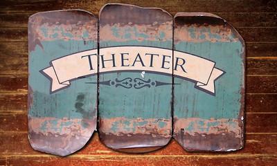 Holzmetallbild 1 - Theater