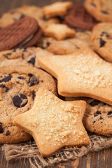 Star and american cookies