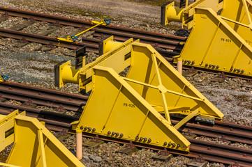Bahnanlage - Prellböcke