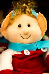Christmas decorations, elves, elf dolls