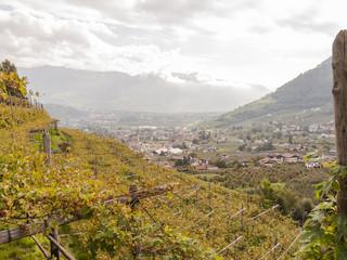 Algund, Algunder Waalweg, Talebene, Vinschgau, Südtirol