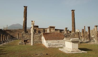 Pompéi - Temple d'Apollon