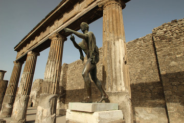 Temple d'Apollon - Pompéi