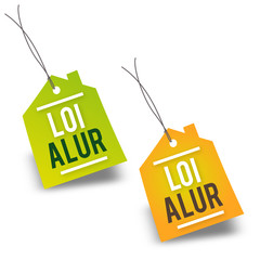 "Etiquette ""Loi Alur"""
