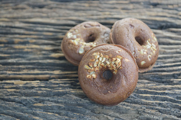 Group of small donuts