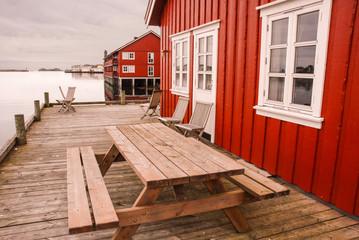 Rorbuer in Lofoten Islands