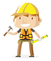 hardhat construction worker