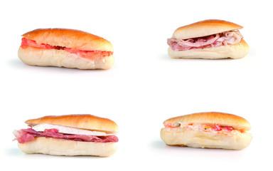 quattro gustosi mini panini