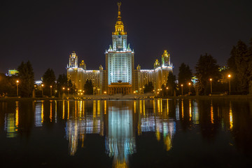 MGU (Moscow State University), Stalin skyscraper in Moscow