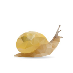 Snail abstract isolated on a white backgrounds