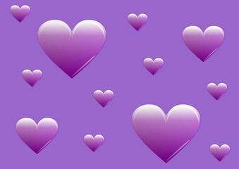 141020-Hintergrund_Background_Herzen_violett