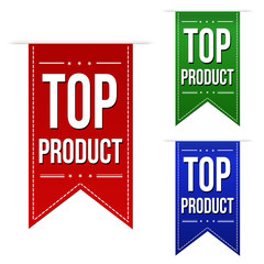 Top product banners