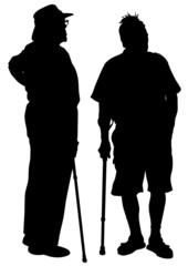 Elderly men